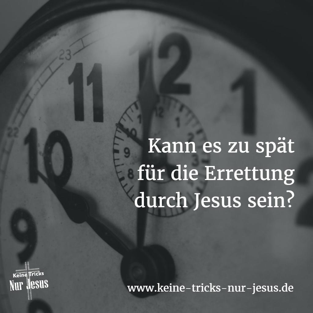 Errettung durch Jesus