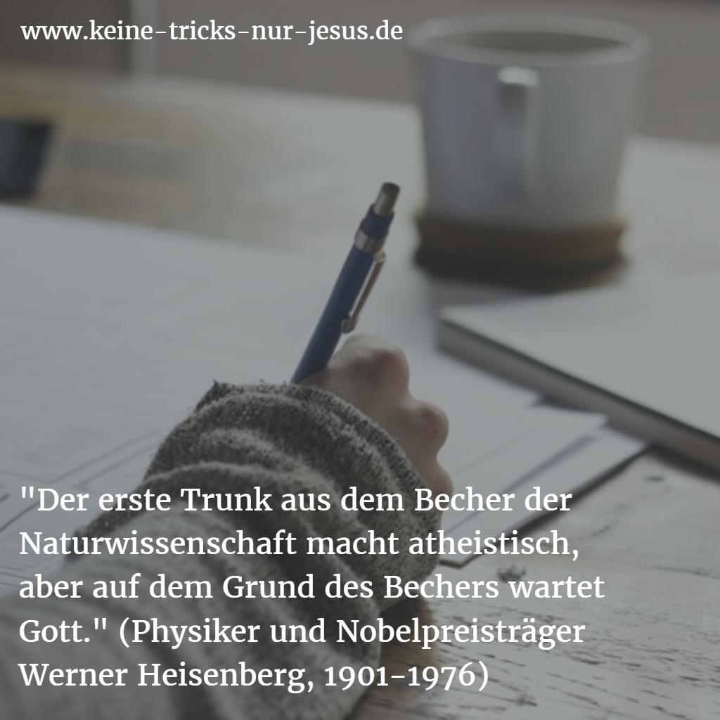 Bibel, Wissenschaft und Heisenberg