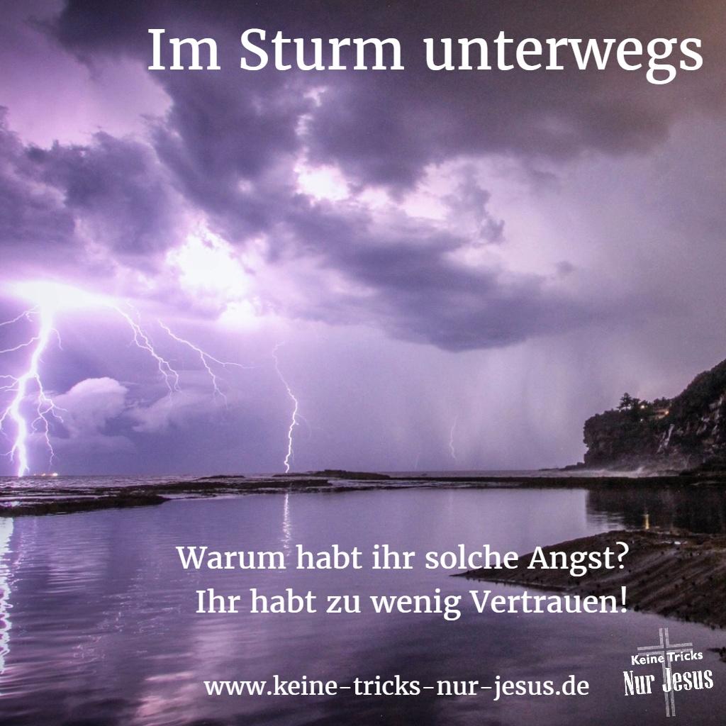 Gott hilft uns durch  jeden Sturm