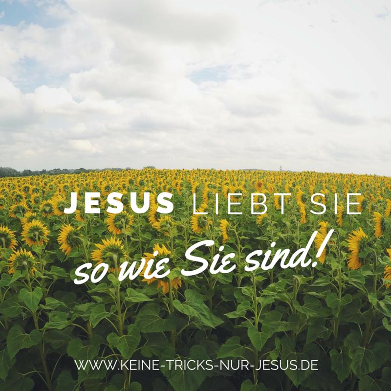 Jesus liebt uns