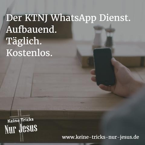 Der tägliche KTNJ WhatsApp Dienst