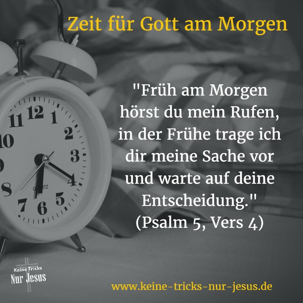 Morgengebet. Zeit für Gott am Morgen