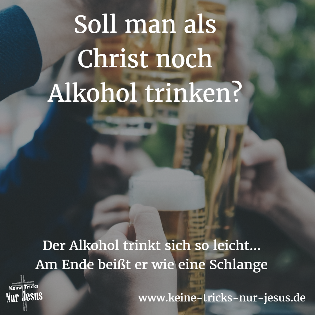 alkohol-christ