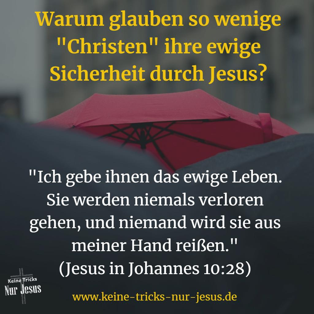 Sicherheit Bibel