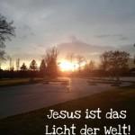 Raus aus dämonischer Finsternis mit Jesus, dem Licht der Welt