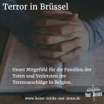 Terror in Brüssel, Belgien