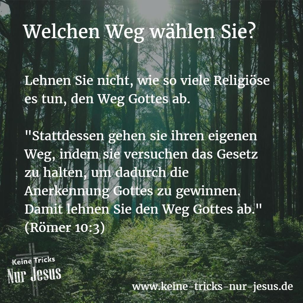 weg-gottes-römer-10-3