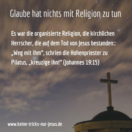 glaube-religion