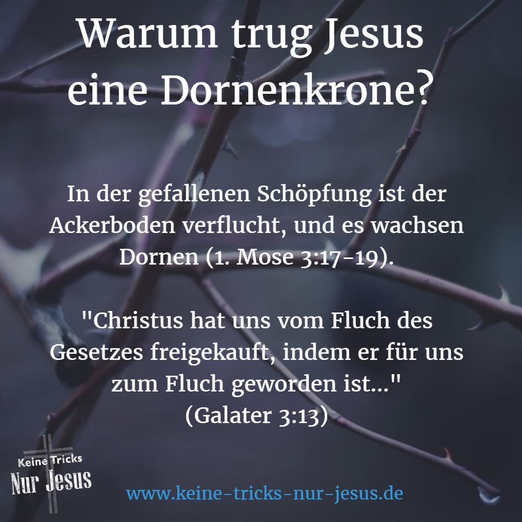 Warum trug Jesus eine Dornenkrone?