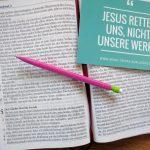 Frieden mit Gott. Nicht durch das, was wir tun, sondern einzig und allein durch das, was Jesus für uns getan hat
