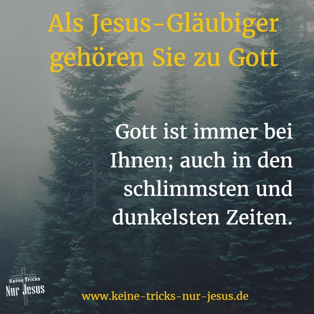 Gott ist bei Ihnen