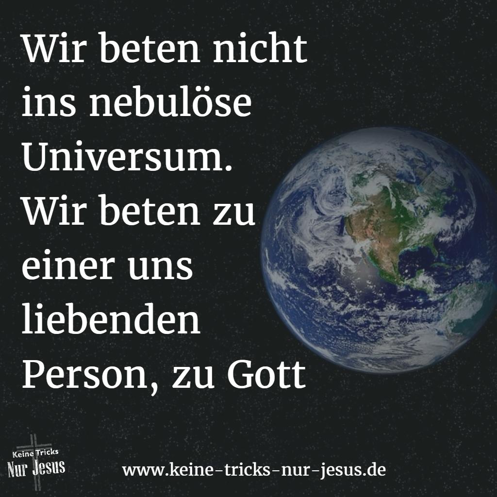 Gott ist eine Person
