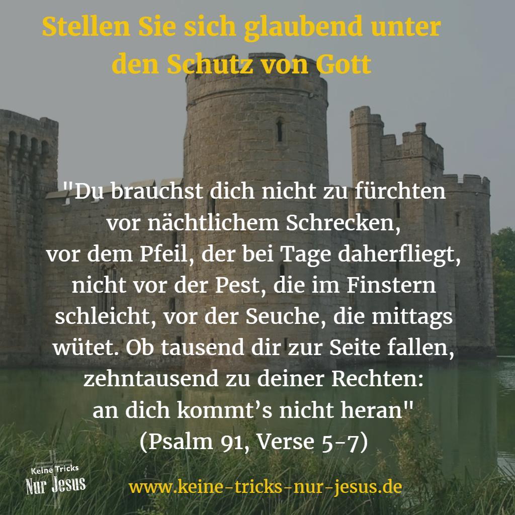 Psalm 91 - Schutz von Gott