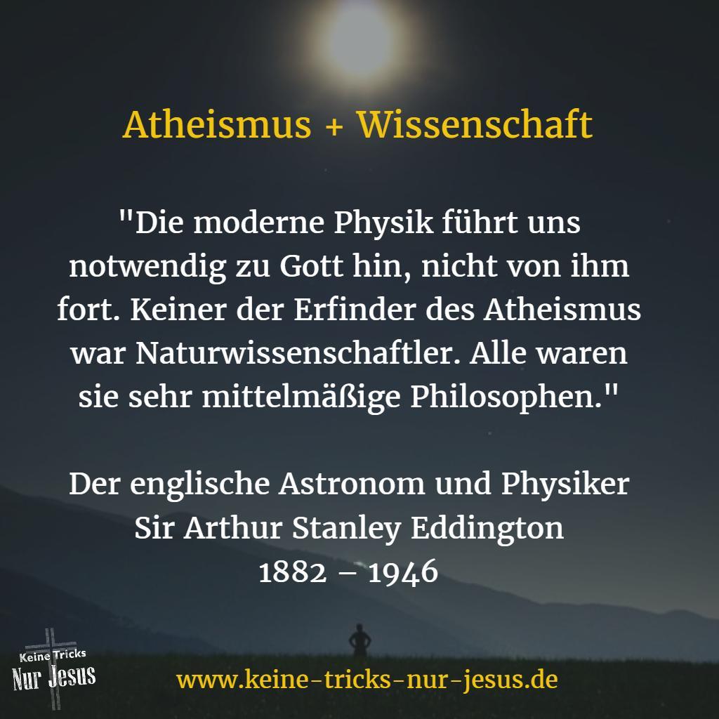 Atheismus Physik