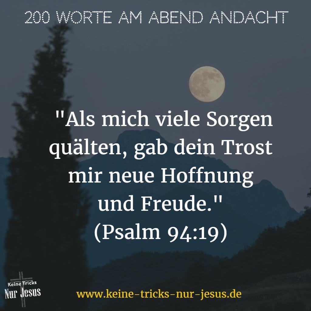 Trost von Gott