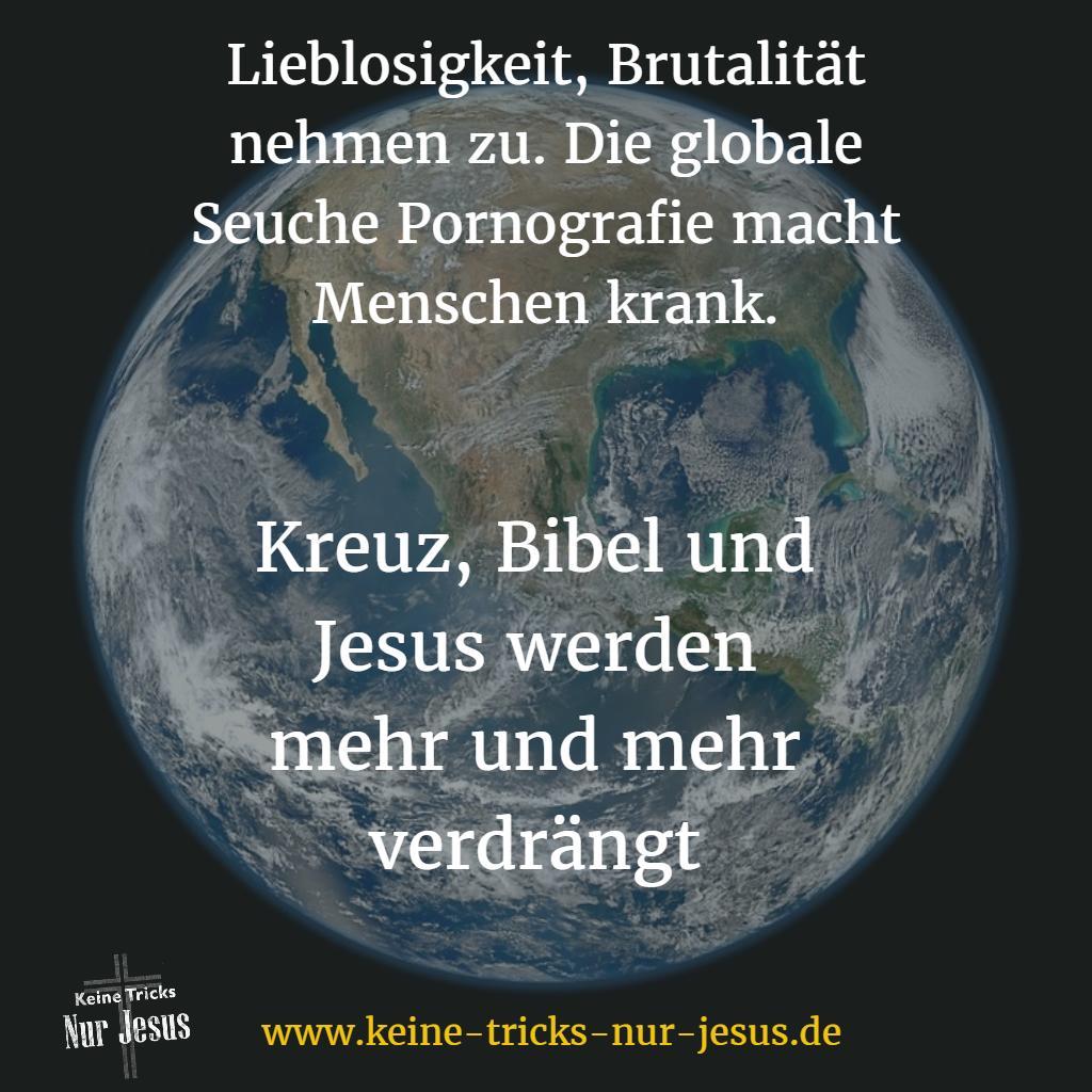 Jesus wird mehr und mehr verdrängt