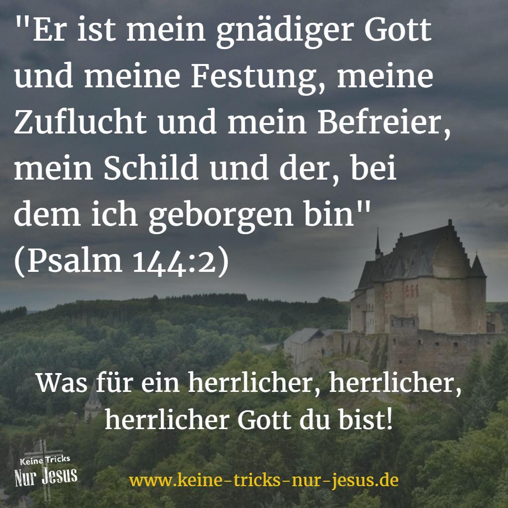 Gott ist meine schützende Burg