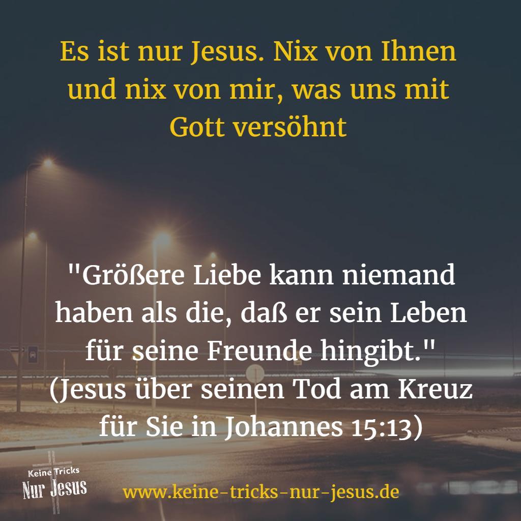 Liebe von Jesus