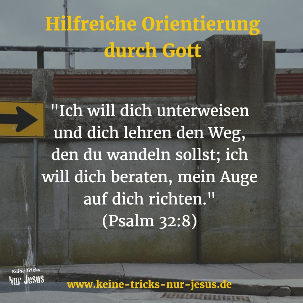 Hilfe und Orientierung von Gott