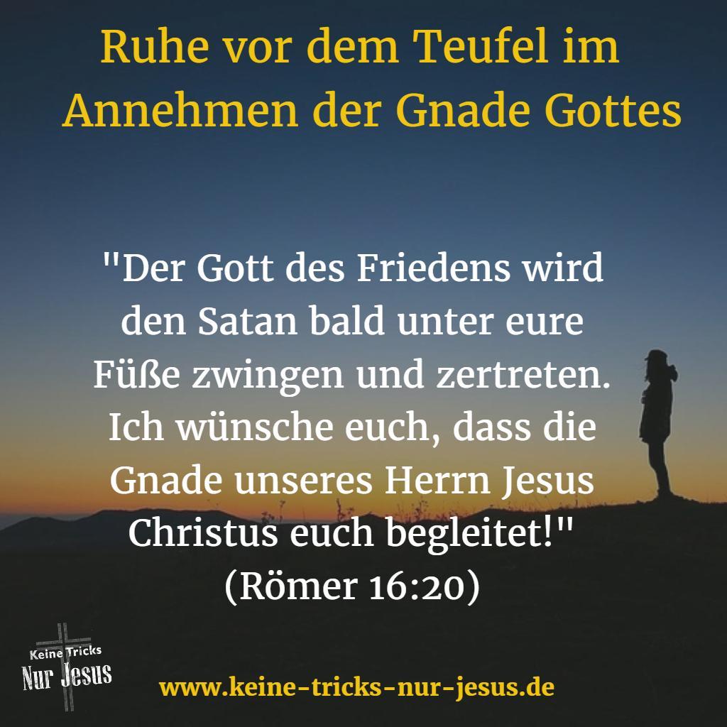 Frieden mit Gott