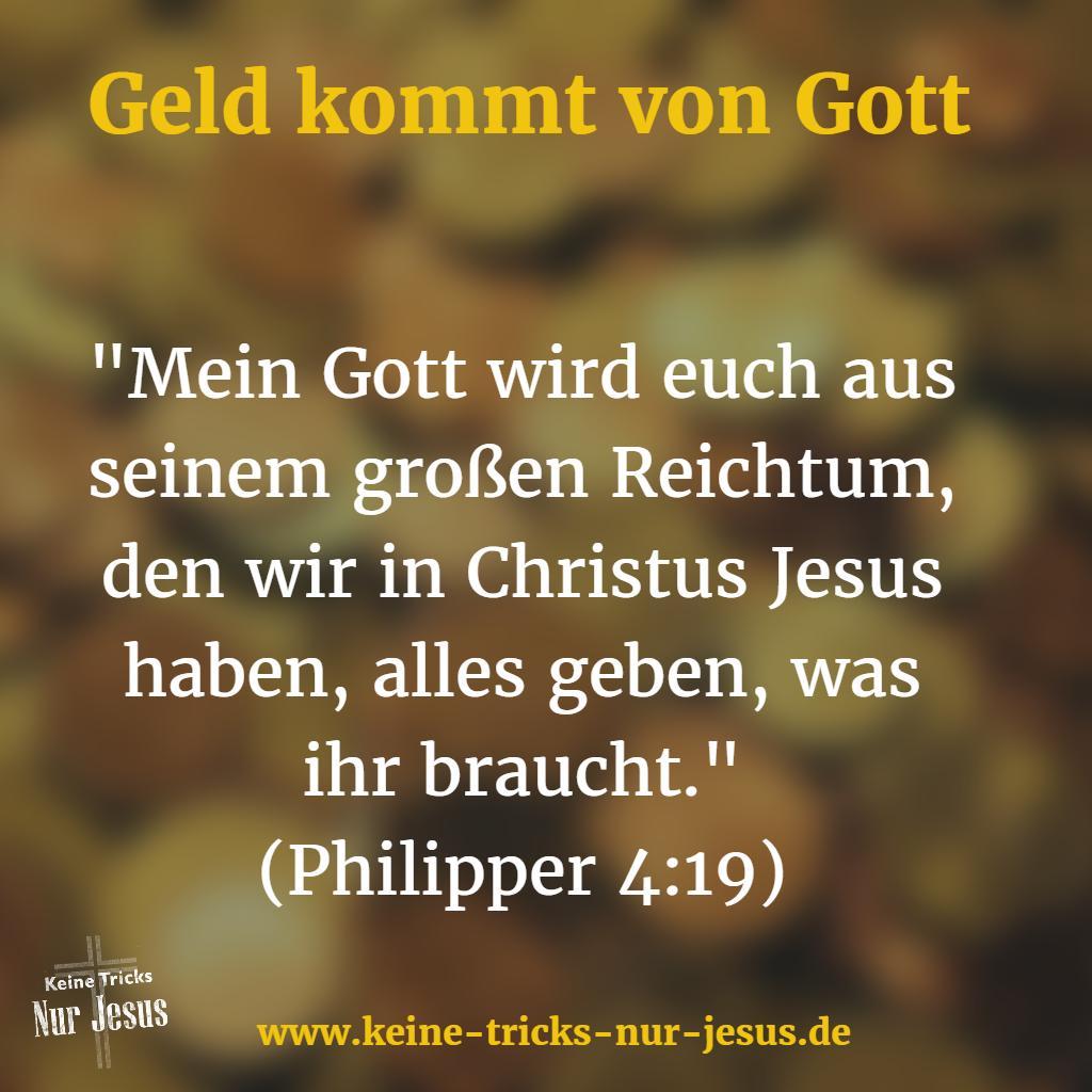 Gott und Reichtum
