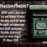 KTNJ Postkarte No. 7 Briefkasten-Phobie