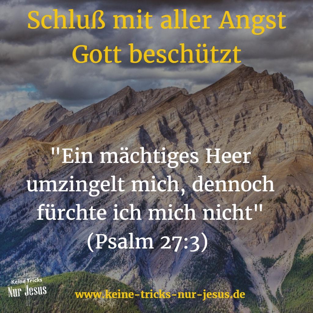 Gott hilft gegen alle Angst