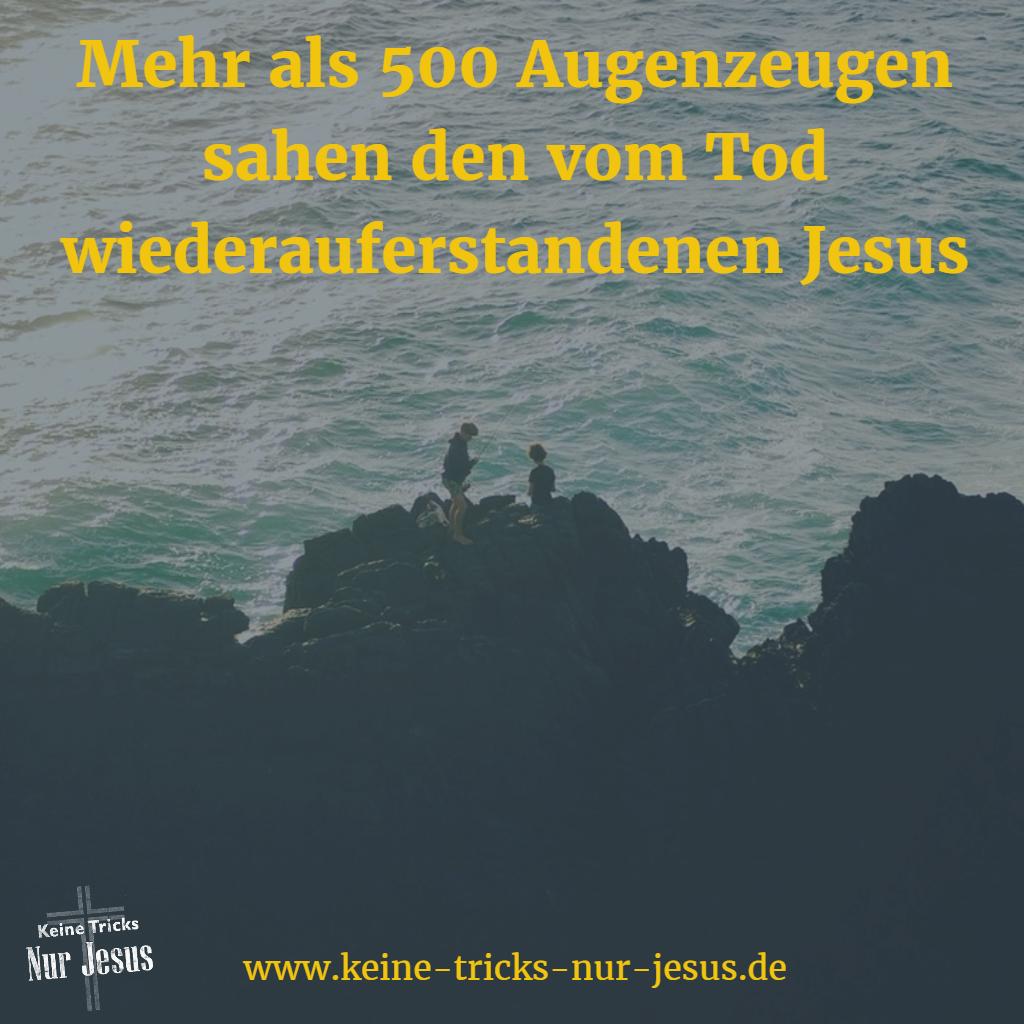 Wiederauferstehung von Jesus
