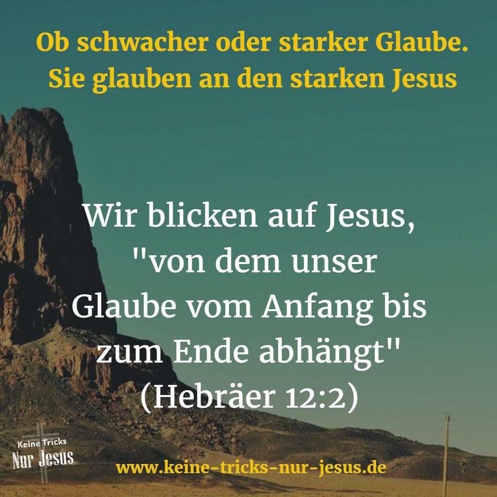 Glaube Jesus