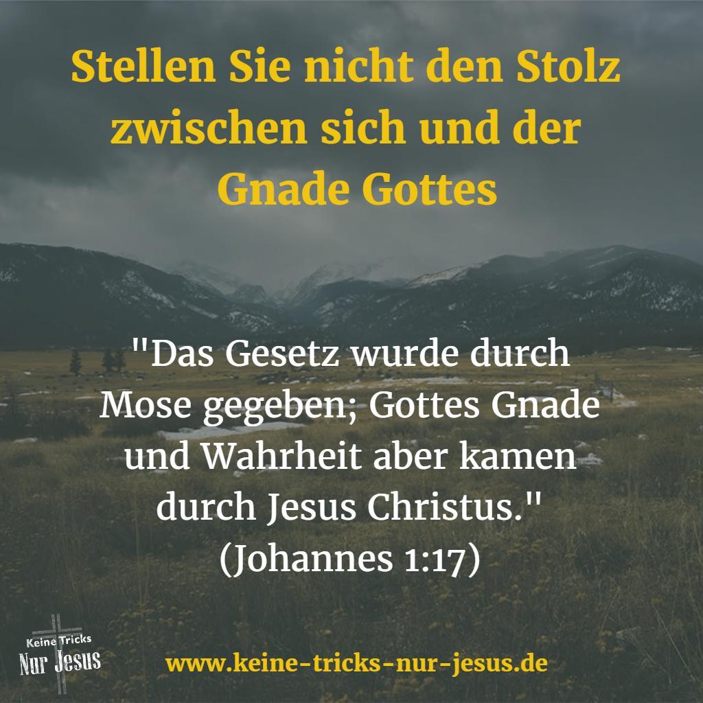 Wahrheit und Gnade kamen mit Jesus