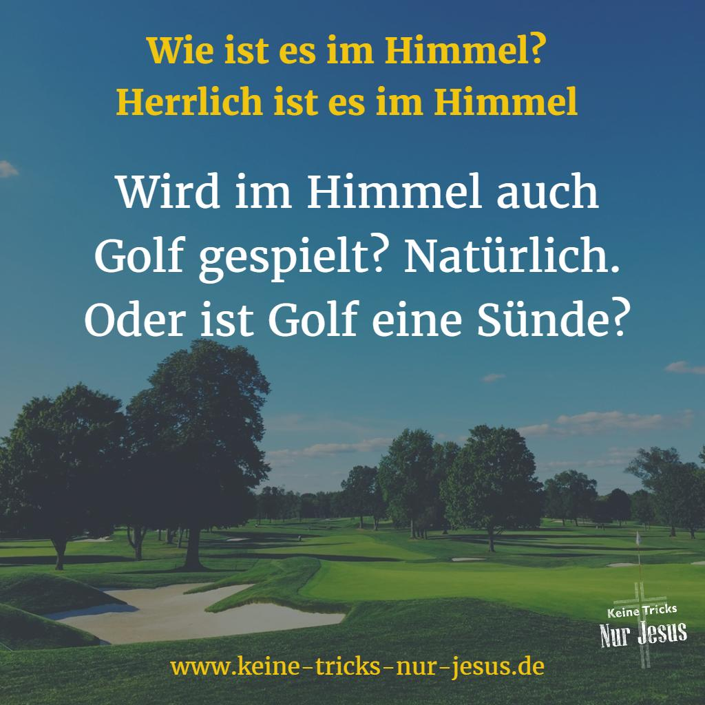 Golf im Himmel