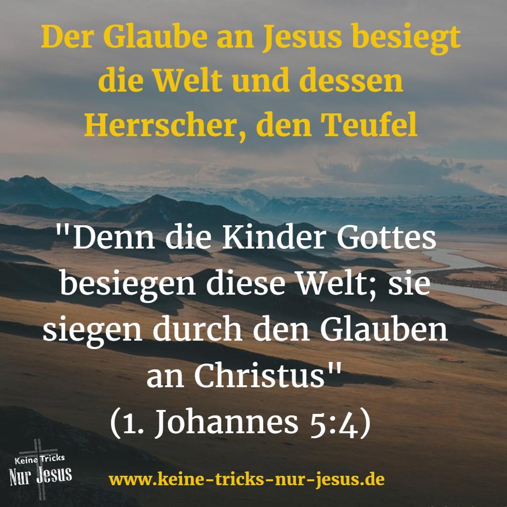 In Gottes Königreich ist der Glaube das bestimmende Grundgesetz