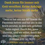 War das, was Jesus für uns tat, nicht gut genug? Jesus-feindliche Kräfte wollen uns so eine Lüge andrehen