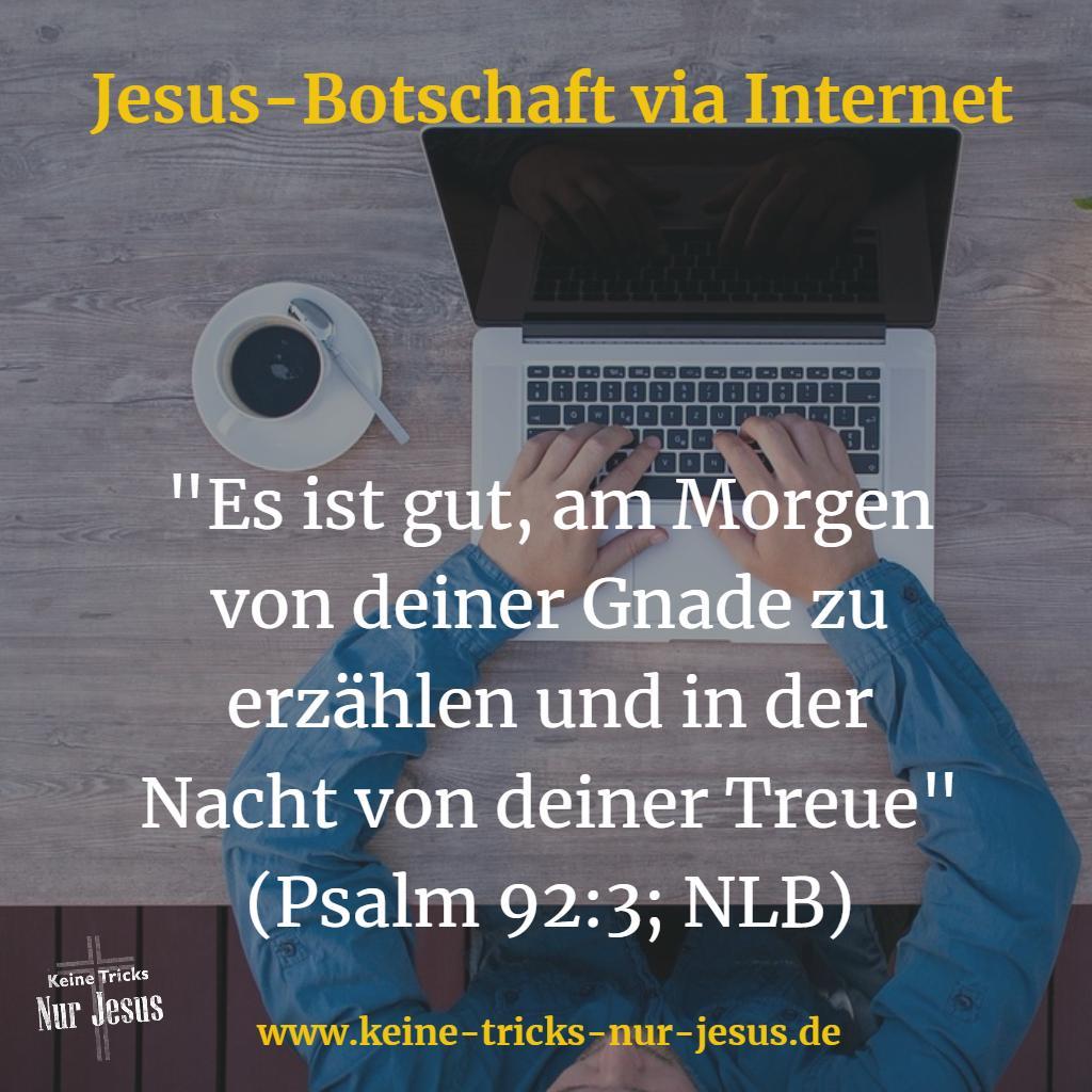 Jesus Botschaft im Internet