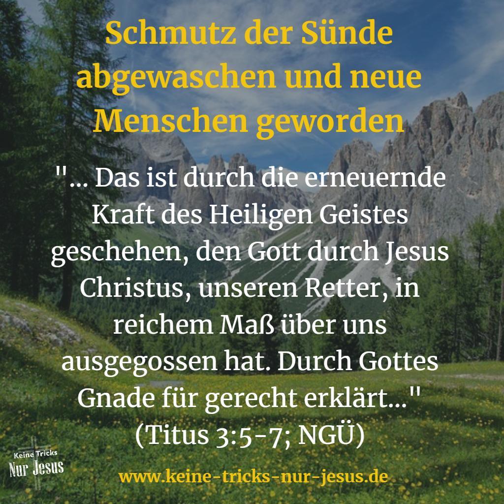 Heiliger Geist Bibelvers