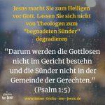 Womit nicht wenige Pfarrer und Priester den Menschen die Tür zu Gott zuhalten