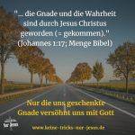 Gerechtigkeit und Seligkeit durch unseren Glauben an das vollendete Werk von Jesus