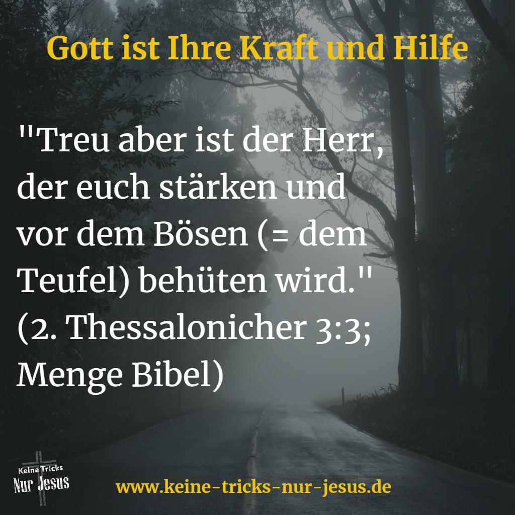 Bibelverse über die Kraft