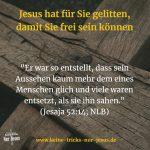Gottes Liebe. Jesus am Kreuz