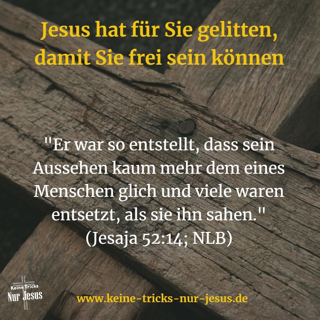 Leiden von Jesus