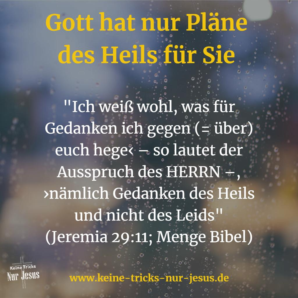 Gottes Plan für Ihr Leben