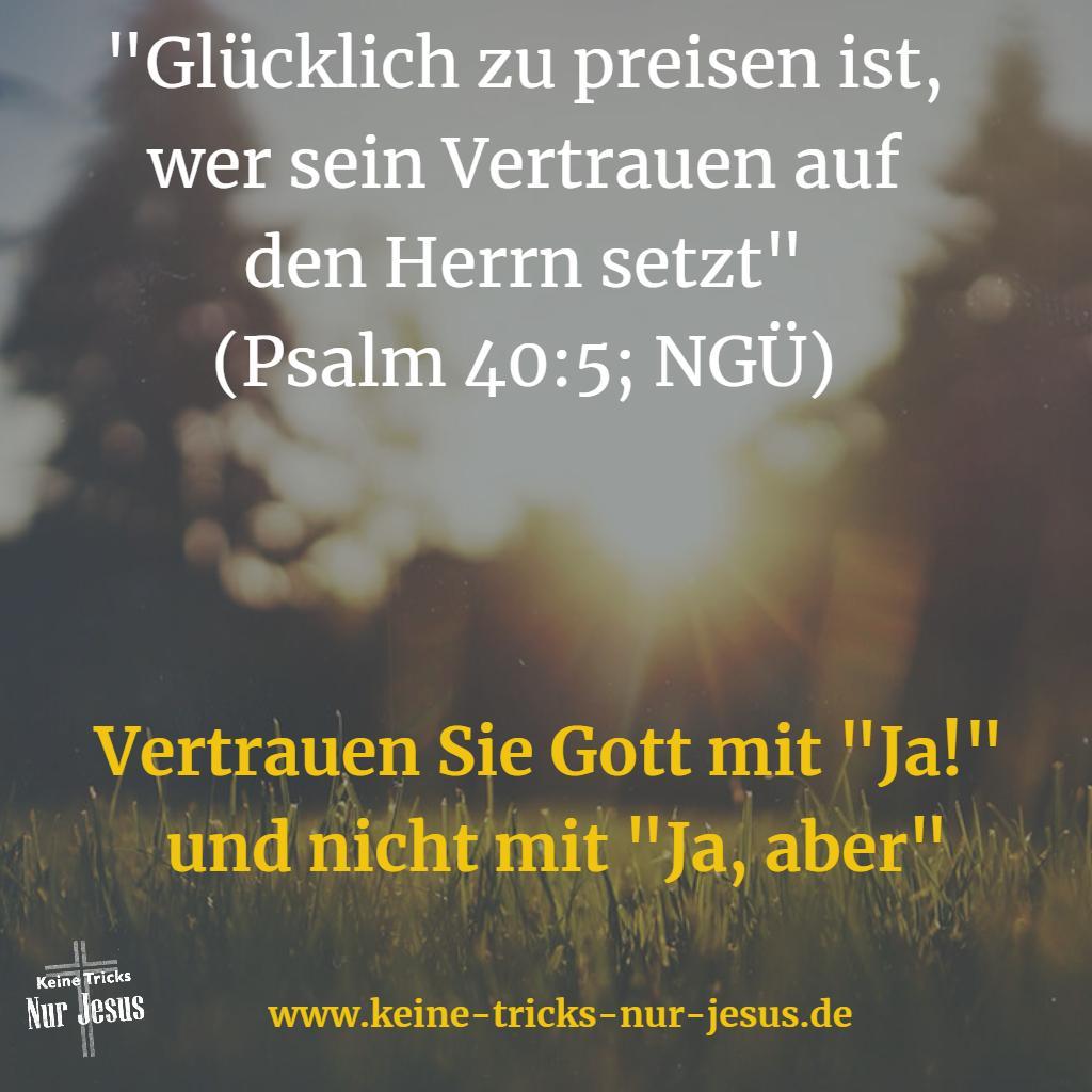 Vertrauen in Gott