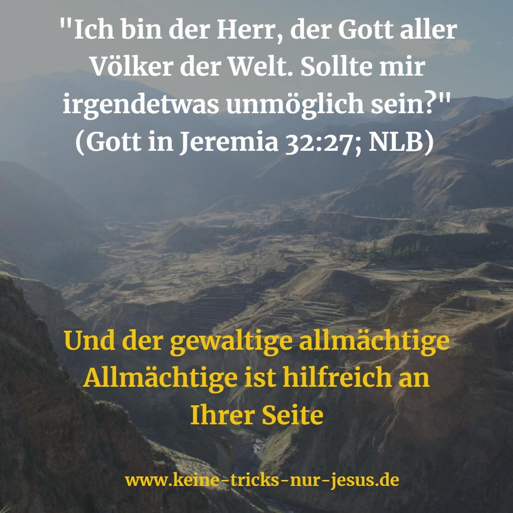 Omnipotenz von Gott