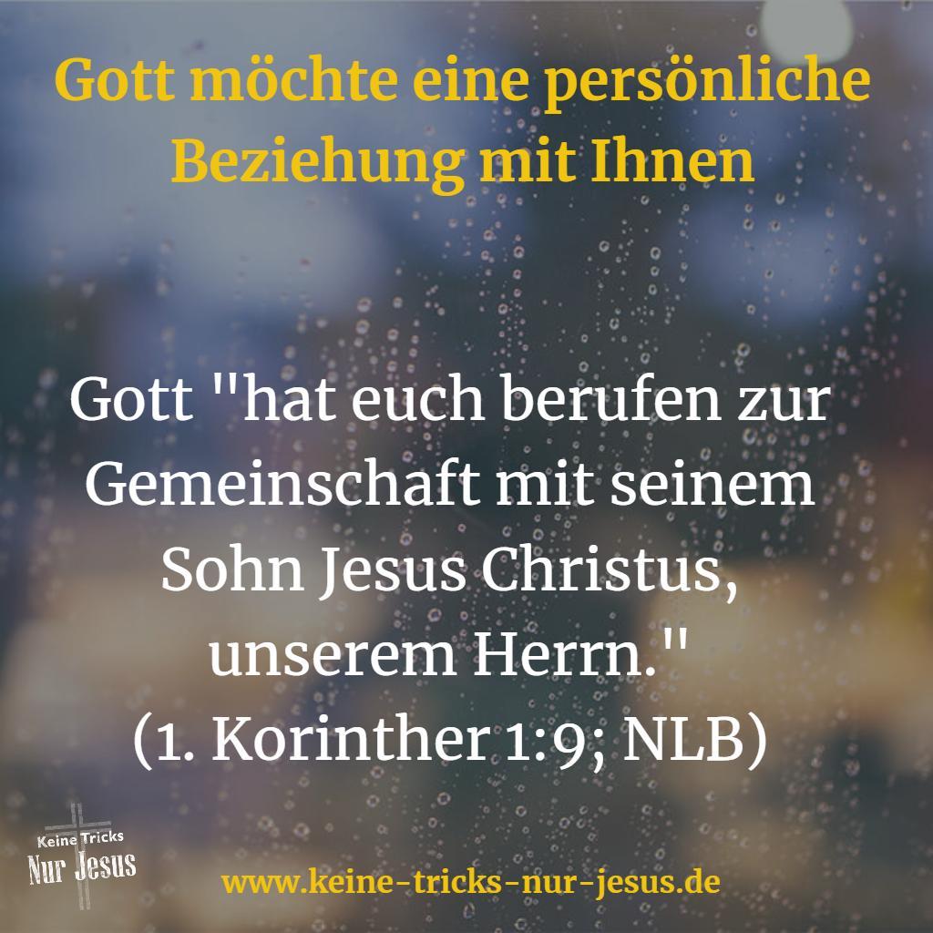 Gemeinschaft mit Jesus