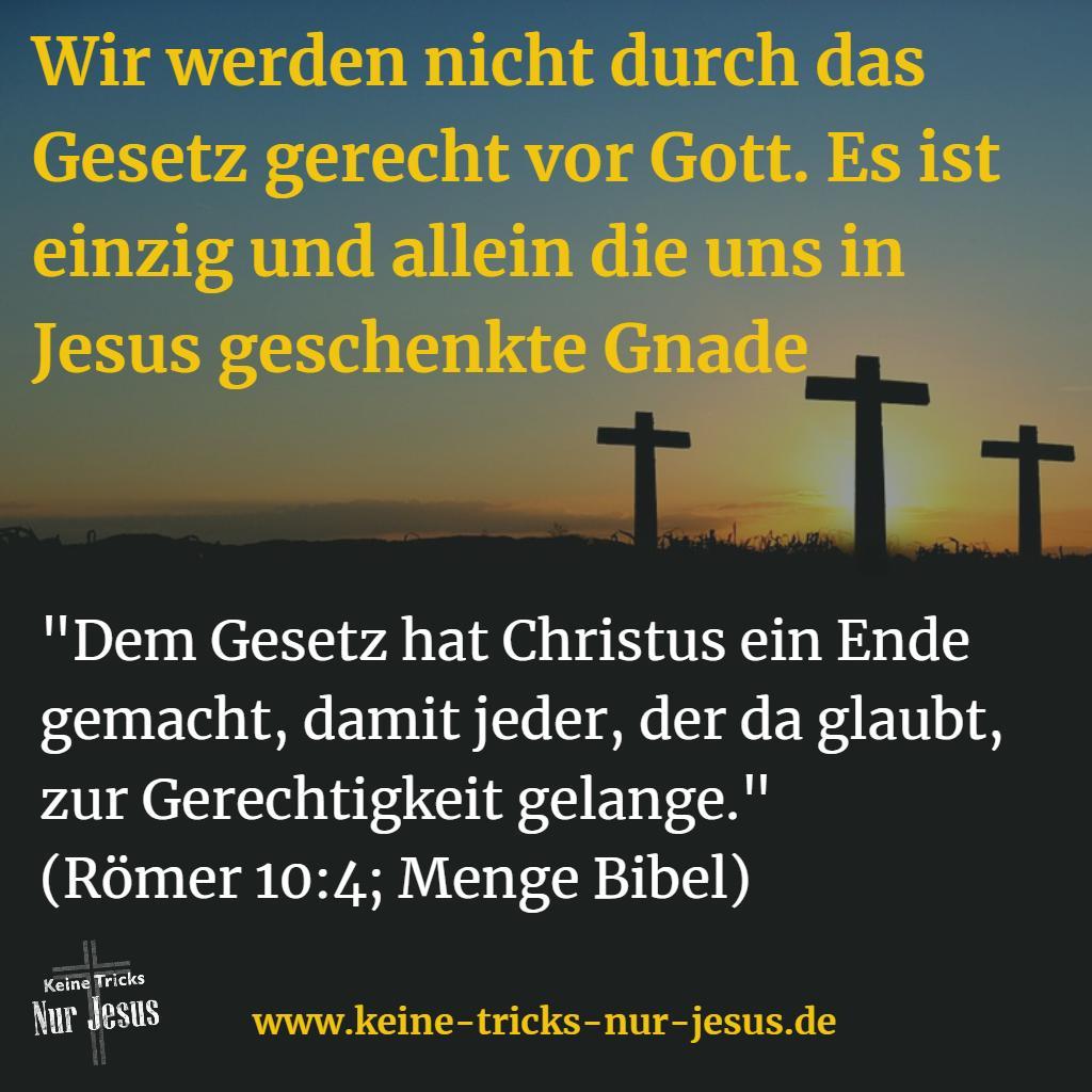 Viele haben Eifer für Gott, aber haben keine Erkenntnis über Gottes Weg zu unserer Versöhnung mit ihm und enden in der Hölle