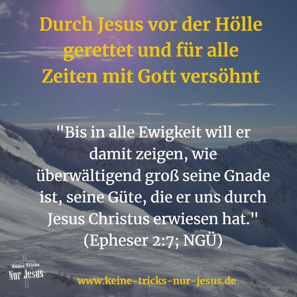 Gnade in Jesus hat kein Ende