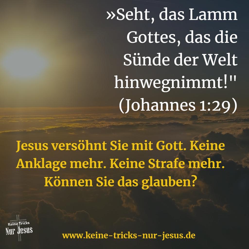 Jesus, das Lamm Gottes