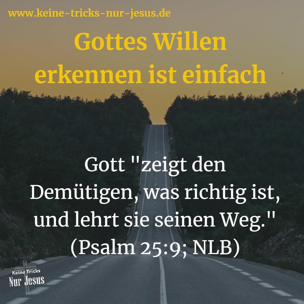 Der Wille von Gott