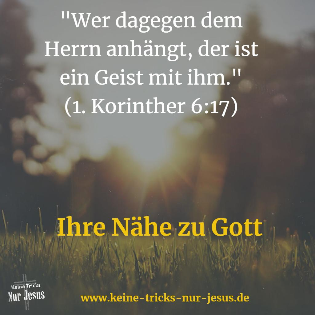 Nähe zu Gott