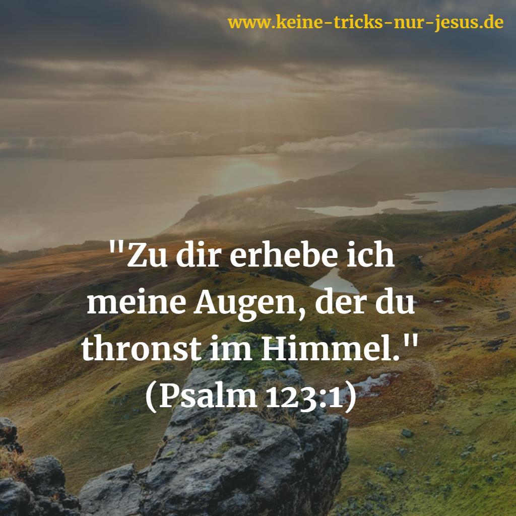 Gottes Thron im Himmel